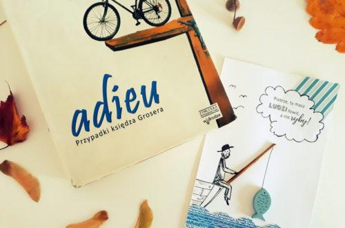 Okładka książki Adieu Jana Grzegorczyka