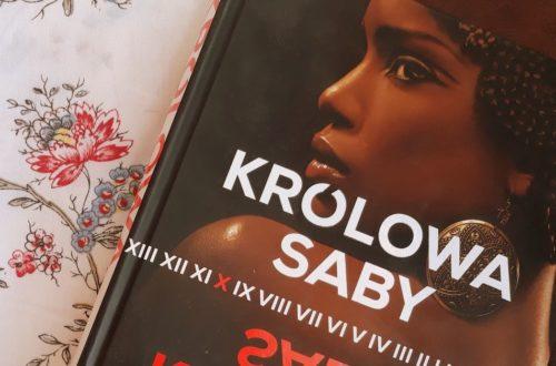 Okładka książki Królowa Saby Tosca Lee